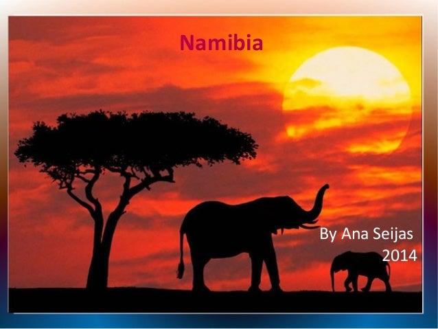 Namibia  By Ana Seijas 2014