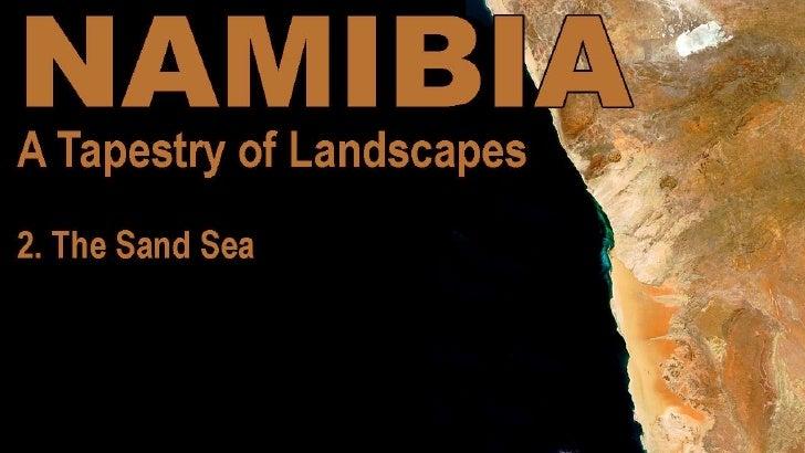 Namibia - The sand sea
