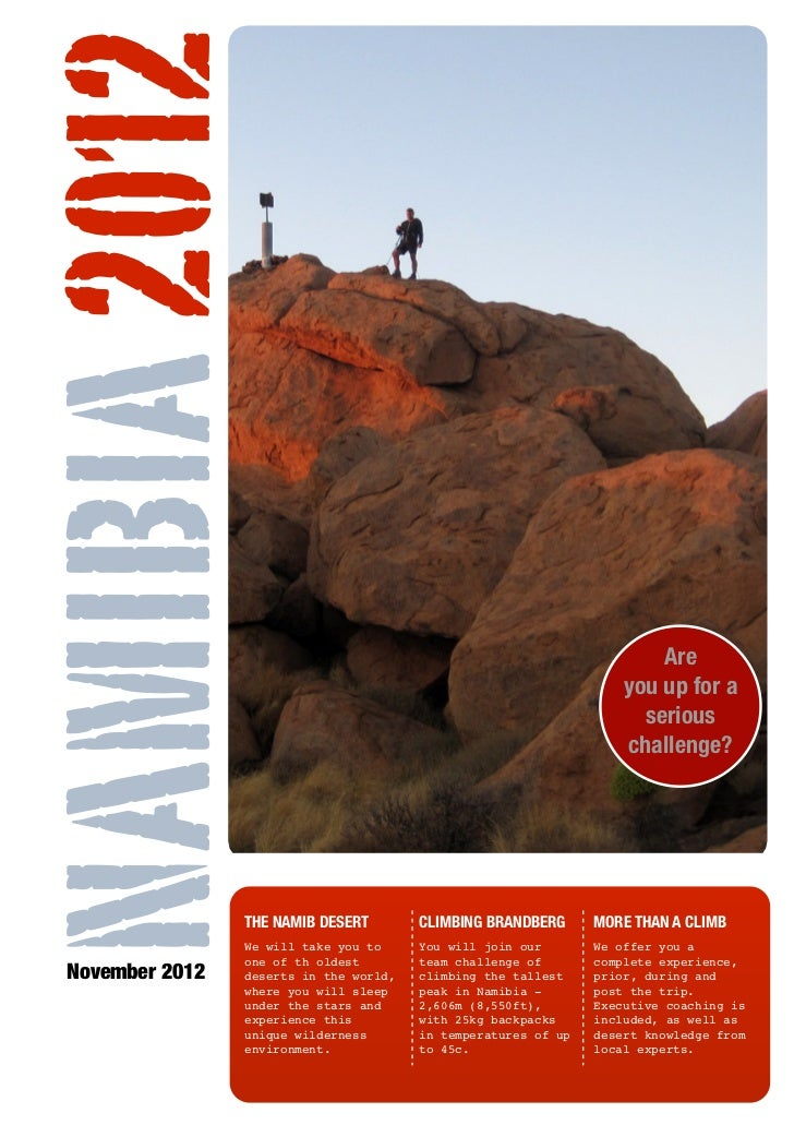 NAMIBIA 2012                                                                           Are                                ...