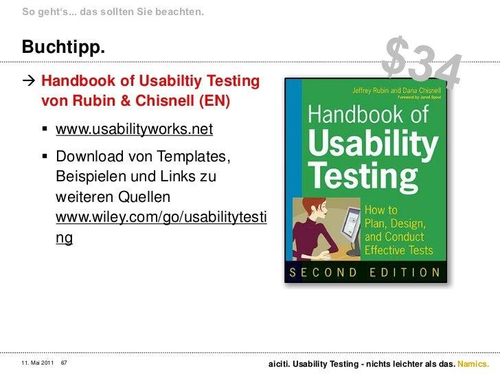 usability study template - usability testing nichts leichter als das
