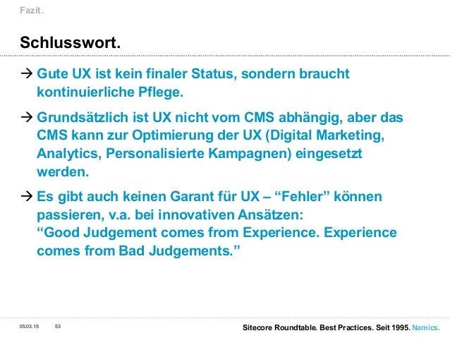 Customer Experience Best Practices Aus Aktuellen Projekten