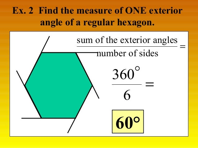 Naming angles of polygons - Sum of exterior angles of polygon ...