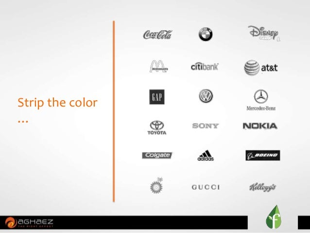 Strip the color …