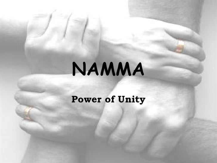NAMMA Power of Unity