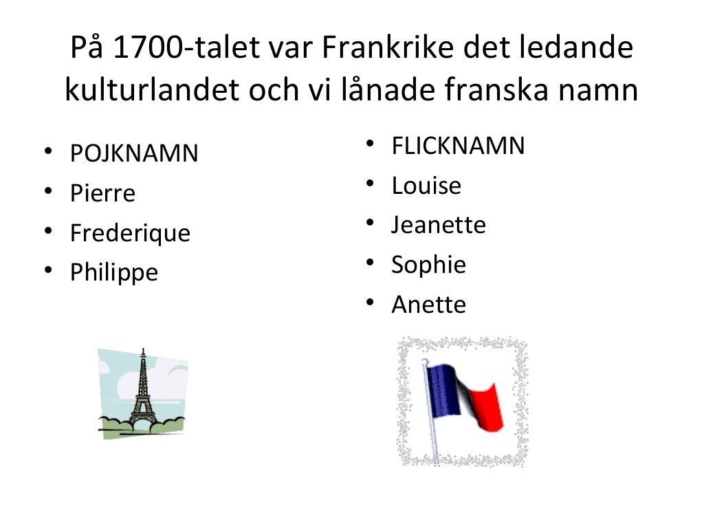 Franska Flicknamn