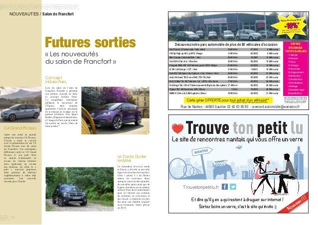 NOUVEAUTES / Salon de Francfort Futures sorties « Les nouveautés du salon de Francfort » Le Dacia Duster restylisé L...