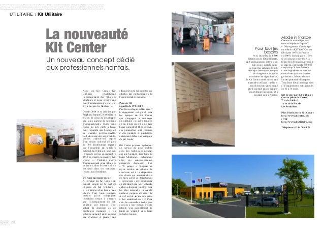 28 UTILITAIRE / Kit Utilitaire Avec son Kit Center, Kit Utilitaire révolutionne l'aménagement des véhicules utilitaires e...