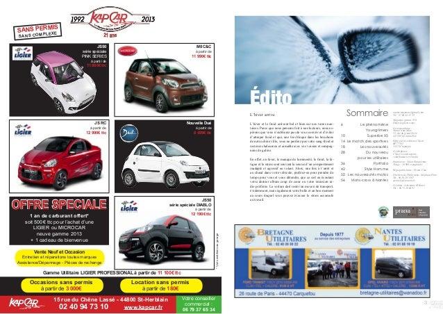 3 nantes.automoto@gmail.com Tél : 07 60 44 35 35 Magazine gratuit. N°6 Dépot légal en cours Correspondance : Nantes Auto M...