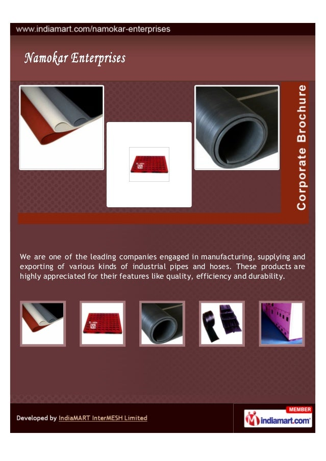 We are one of the leading companies engaged in manufacturing, supplying andexporting of various kinds of industrial pipes ...