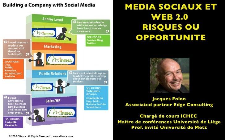MEDIA SOCIAUX ET                                                                                      WEB 2.0             ...