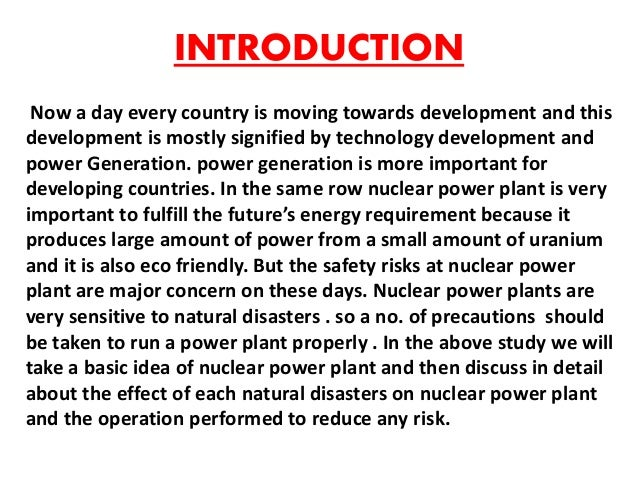 safety essay power plant Specific subject matter papers prepared or used by the task groups and gas power plants can respond to rapid changes in power needs third is concerns around safety and lastly there are concerns globally around.