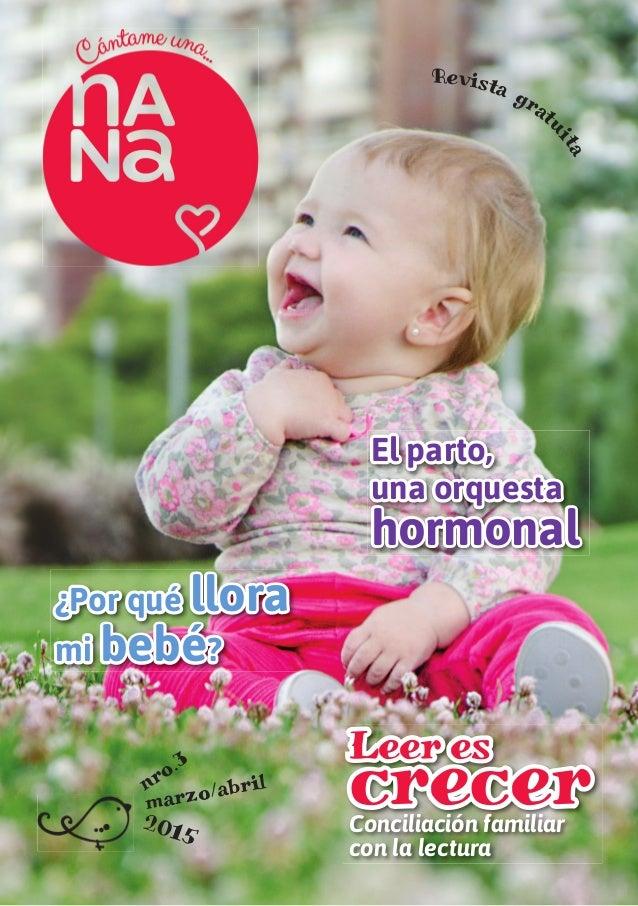 El parto, una orquesta hormonal ¿Por qué llora mi bebé? Leer es crecerConciliación familiar con la lectura nro.3 marzo/abr...