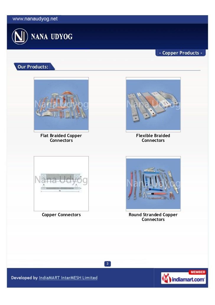 Nana Udyog, Surat, Copper Products Slide 3