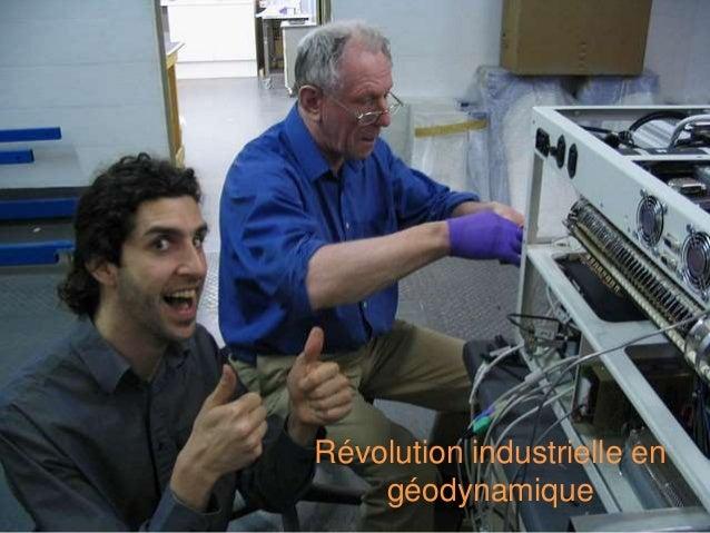 Révolution industrielle en géodynamique