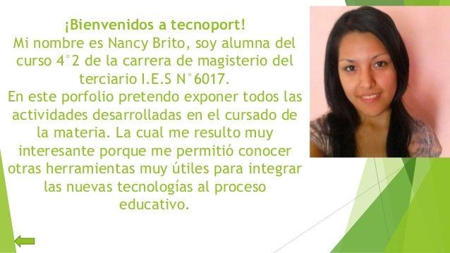 Portfolio digital - Nancy Slide 2