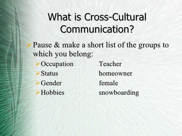 cross cultural issues in multinational companies