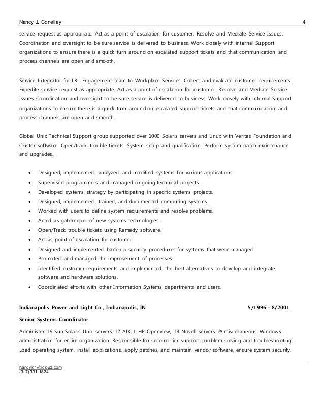 nancy conelley cv