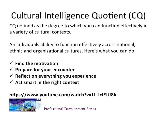cultural differences and emotional intelligence Differences of culture: rules of engagement, a culture's relationship to nature, socially acceptable  cultural intelligence (ci) principles help to facilitate awareness for, and understanding of, cultural  speaks about a conceptual age where empathy and emotional intelligence are essential in business.