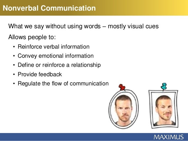 Nancy Vera - Nonverbal Communication: It's Not What You Say, It's How…