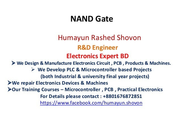 Humayun Rashed Shovon R&D Engineer Electronics Expert BD  We Design & Manufacture Electronics Circuit , PCB , Products & ...