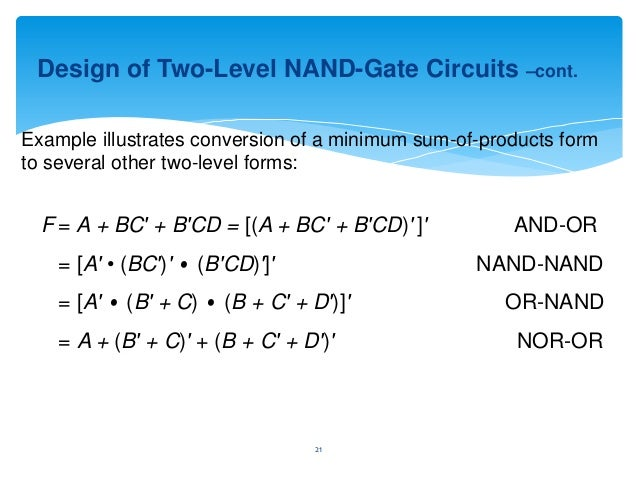 nand or gates ver_studentDraw The Circuit For This Minimal Sum Of Products Using Only Nor #15