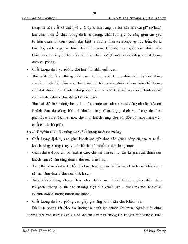 20 Báo Cáo Tốt Nghiệp GVHD: Ths.Trương Thị Hải Thuận Sinh Viên Thực Hiện Lê Văn Trung trang trí nội thất và thiết kế …Giúp...