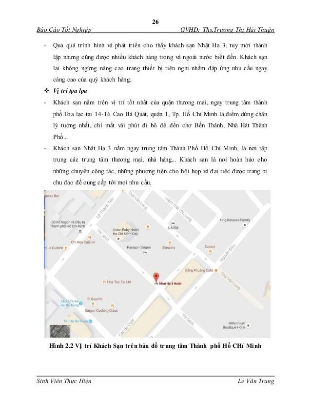 26 Báo Cáo Tốt Nghiệp GVHD: Ths.Trương Thị Hải Thuận Sinh Viên Thực Hiện Lê Văn Trung - Qua quá trình hình và phát triển c...