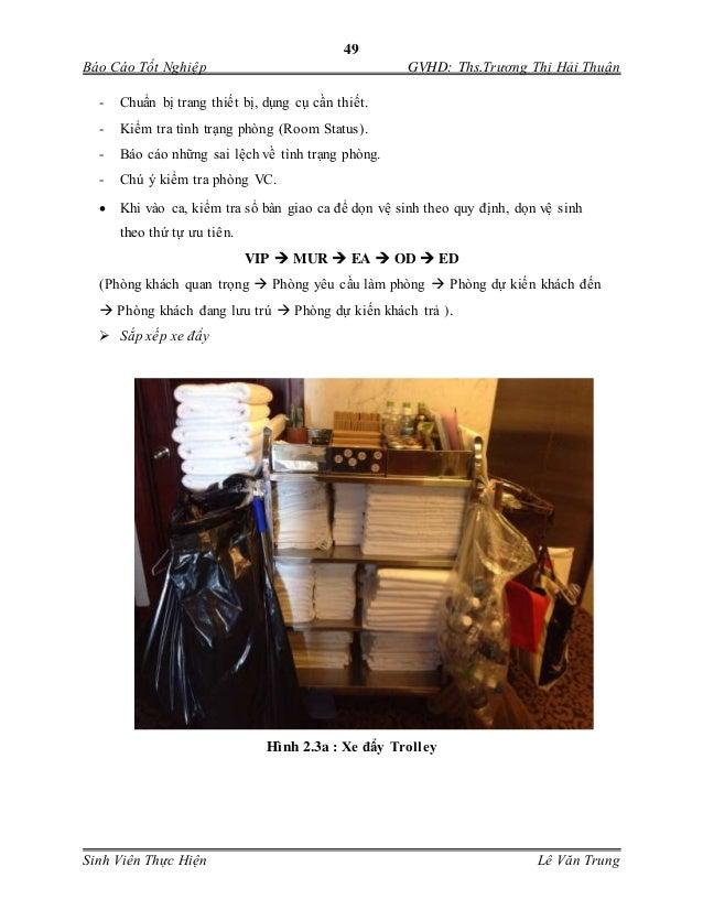 49 Báo Cáo Tốt Nghiệp GVHD: Ths.Trương Thị Hải Thuận Sinh Viên Thực Hiện Lê Văn Trung - Chuẩn bị trang thiết bị, dụng cu...