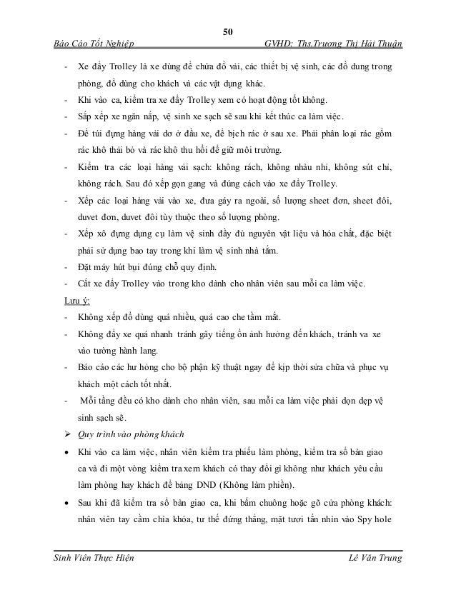 50 Báo Cáo Tốt Nghiệp GVHD: Ths.Trương Thị Hải Thuận Sinh Viên Thực Hiện Lê Văn Trung - Xe đẩy Trolley là xe dùng để chứa...