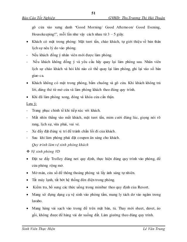 """51 Báo Cáo Tốt Nghiệp GVHD: Ths.Trương Thị Hải Thuận Sinh Viên Thực Hiện Lê Văn Trung gõ cửa vào xưng danh """"Good Morning/ ..."""