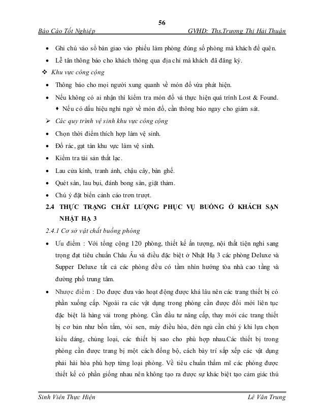 56 Báo Cáo Tốt Nghiệp GVHD: Ths.Trương Thị Hải Thuận Sinh Viên Thực Hiện Lê Văn Trung  Ghi chú vào sổ bàn giao vào phiếu...