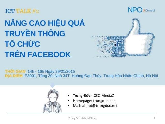 Trung Đức - MediaZ Corp 1 • Trung Đức - CEO MediaZ • Homepage: trungduc.net • Mail: about@trungduc.net