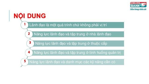 Nâng tầm năng lực lãnh đạo tại KienLongBank Slide 2