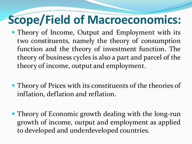 the relevance of microeconomics and macroeconomics in the success of a company This revision mind map looks at the micro and macroeconomic importance of innovation successful a level economics year 2 microeconomics company reg no.