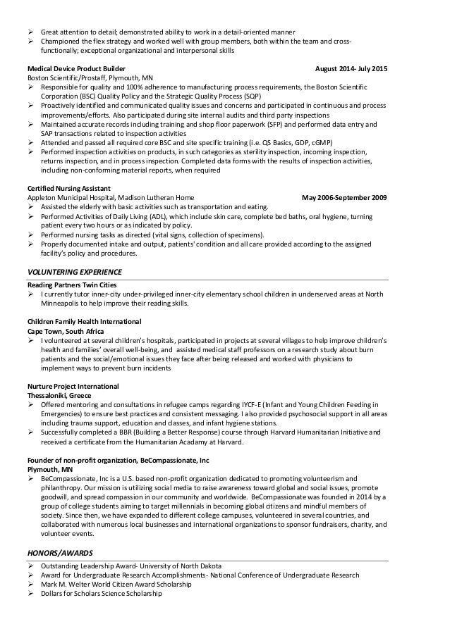 Using Medical Terminology In Resume