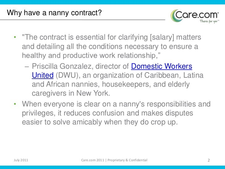 Nanny Contracts. Nanny / Child Homework Contract: Nannies And Au