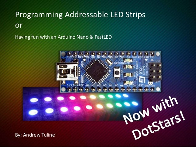 Programming Addressable LED Strips