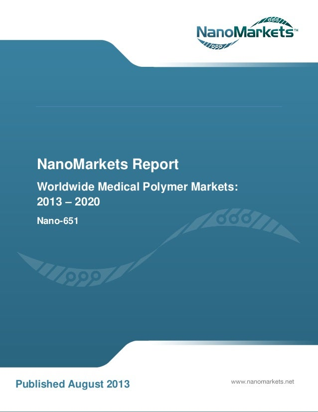 worldwide medical polymer market to 2020 Global medical membranes market research report to 2020 with 130 pages available at usd 2900 for single user pdf at reportsweb research database.