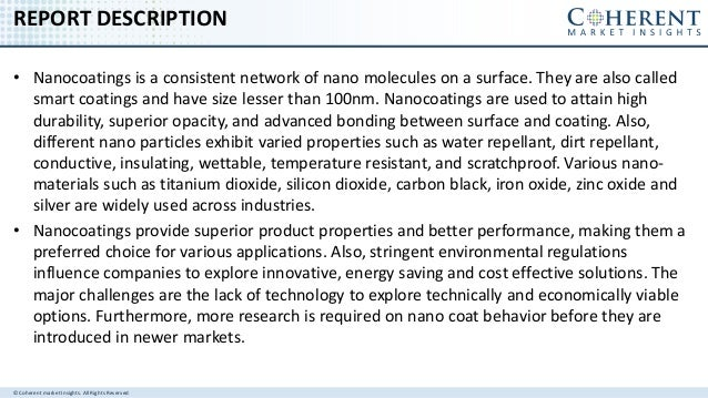 Nanocoatings Market - Global Industry Insights, Trends, Size, Share, Outlook, and Opportunity Analysis, 2017-25 Slide 2