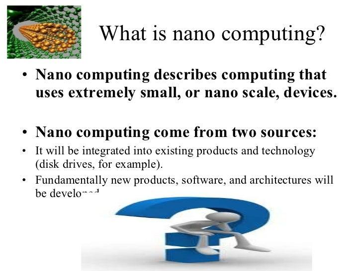 Nano Computing pdf Free Download