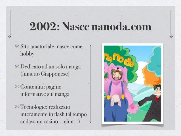Storia di Nanoda.com Slide 2