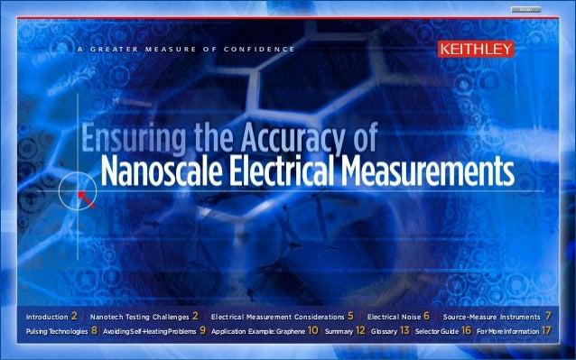 begin                A    g r e at e r    m e a s u r e     o f    c o n f i d e n c eIntroduction   2 |   Nanotech Testin...