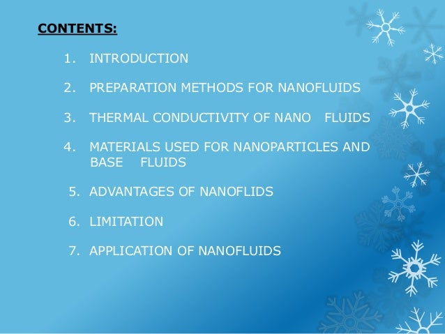Nanofluids ppt download