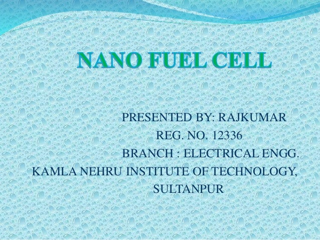 PRESENTED BY: RAJKUMAR REG. NO. 12336 BRANCH : ELECTRICAL ENGG. KAMLA NEHRU INSTITUTE OF TECHNOLOGY, SULTANPUR