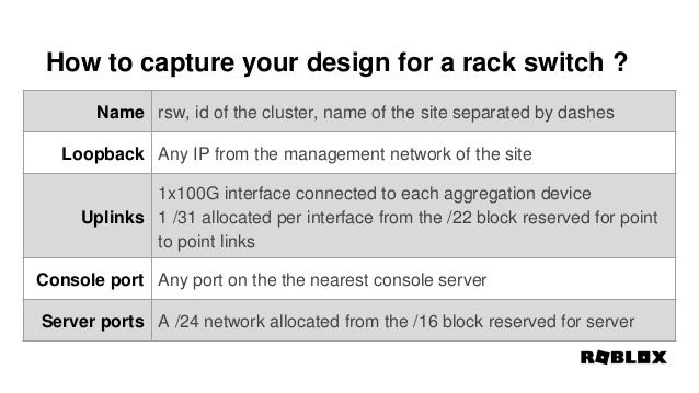 Nanog75, Network Device Property as Code