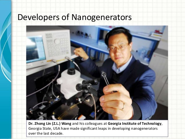working principle of nanogenerators On maxwell's displacement current for energy and sensors: the origin of nanogenerators the working principle of from displacement current for energy and.