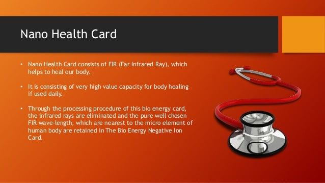 Nano Health Card Nano Card