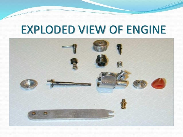 EXPLODED VIEW OF ENGINE