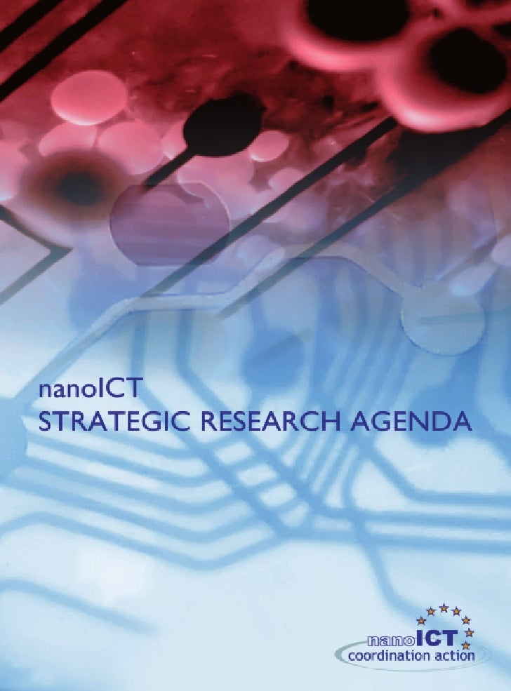 nanoICT STRATEGIC RESEARCH AGENDAVersion 1.0