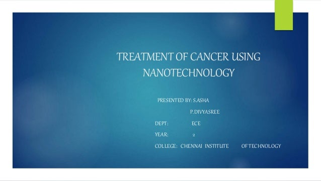 Thesis on cancer treatment